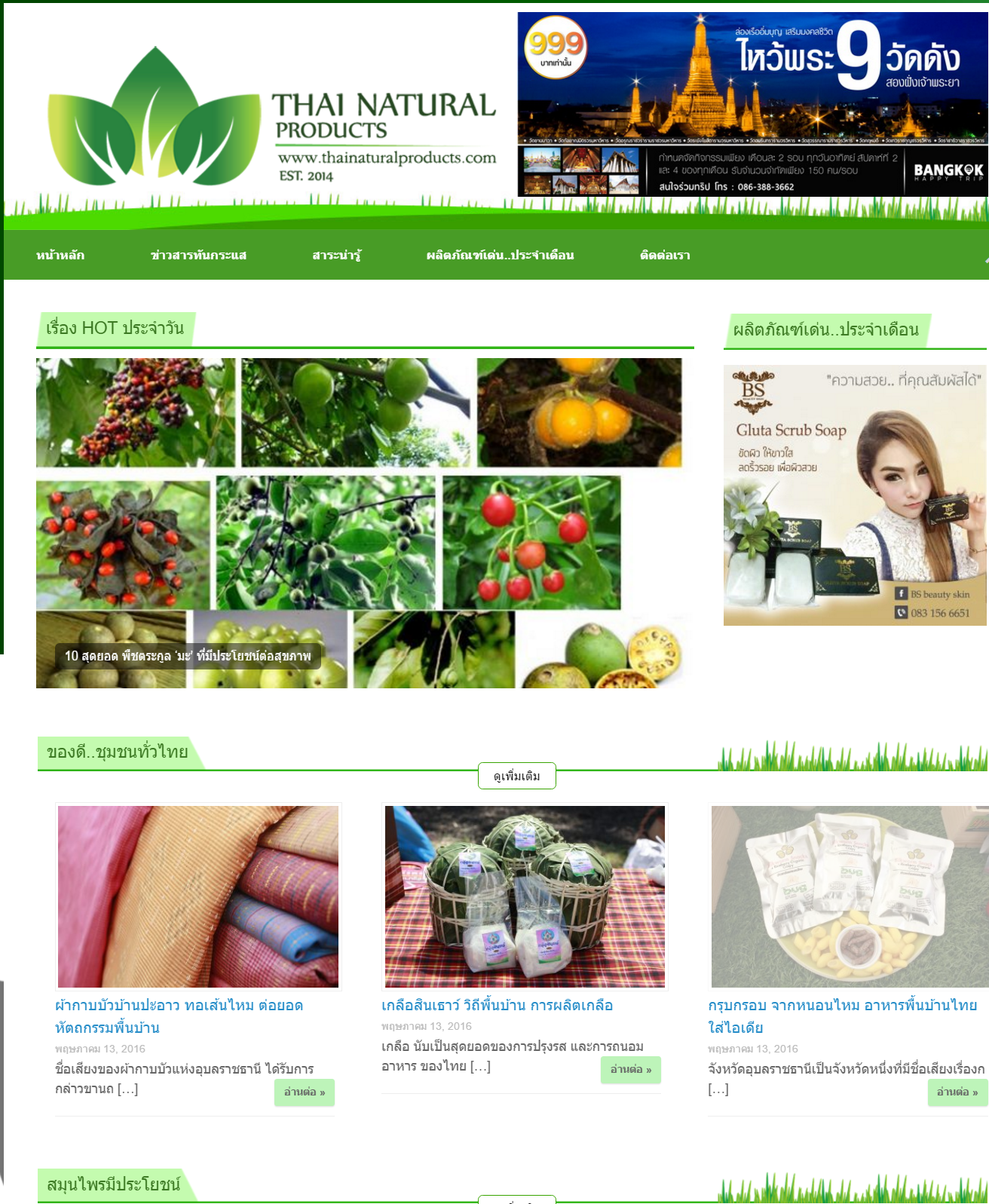 Thai Natural Products